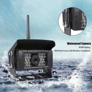 Image 5 - GreenYi kablosuz geri görüş kamerası kamyon, RV,Camper, römork. WiFi araç arka görüş kamerası çalışmak ile iphone veya android cihazlar