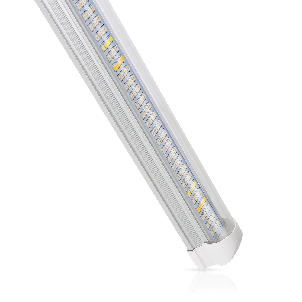60cm T8 Tube Full Spectrum LED Grow Light Bar 30W 300LEDs Plant Growth Lamp Strip for Hydroponics Aquarium Flower Vegs Grow Tent