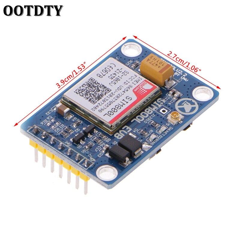 SIM800L V2.0 5V Wireless GSM GPRS Module Quad-Band Antenna Cap M105 MCU Arduino
