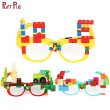 New Glasses Frame Baseplate Building Blocks Legoingly Minecraft Technic Base Plate Glasses Frame Brick Toys For Child(China)