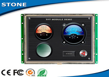 8.0 stone tft ype lcd module with hd colourful touch screen & rs232 port to any mcu by comand sets