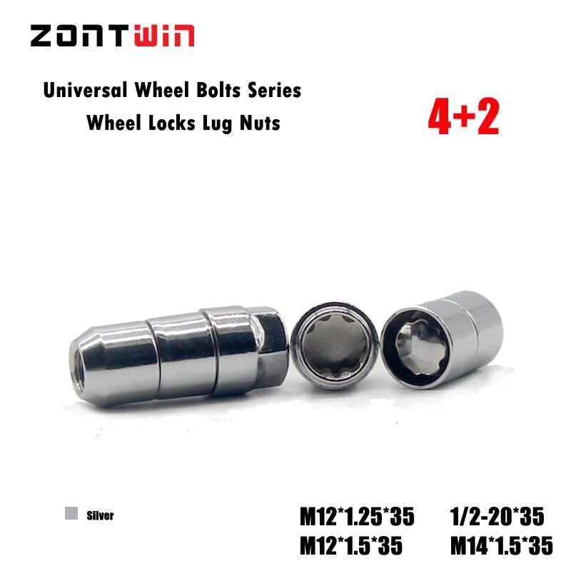 "20/"" Aodhan SPL35 SPLINE ACORN Chrome 12X1.5 Wheel Tuner Steel Lug Nuts"