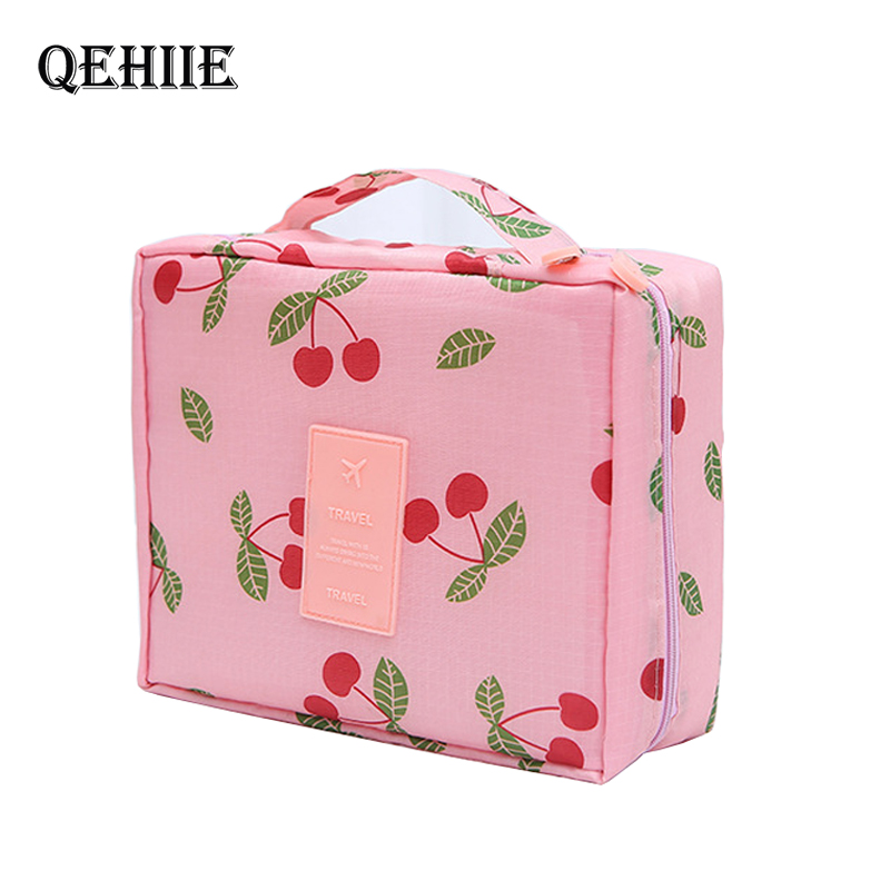 Multifunction Travel Makeup Case Women Cosmetic Bags Organizer Waterproof Portable Makeup Bag Necessity Beauty Case Wash Pouch
