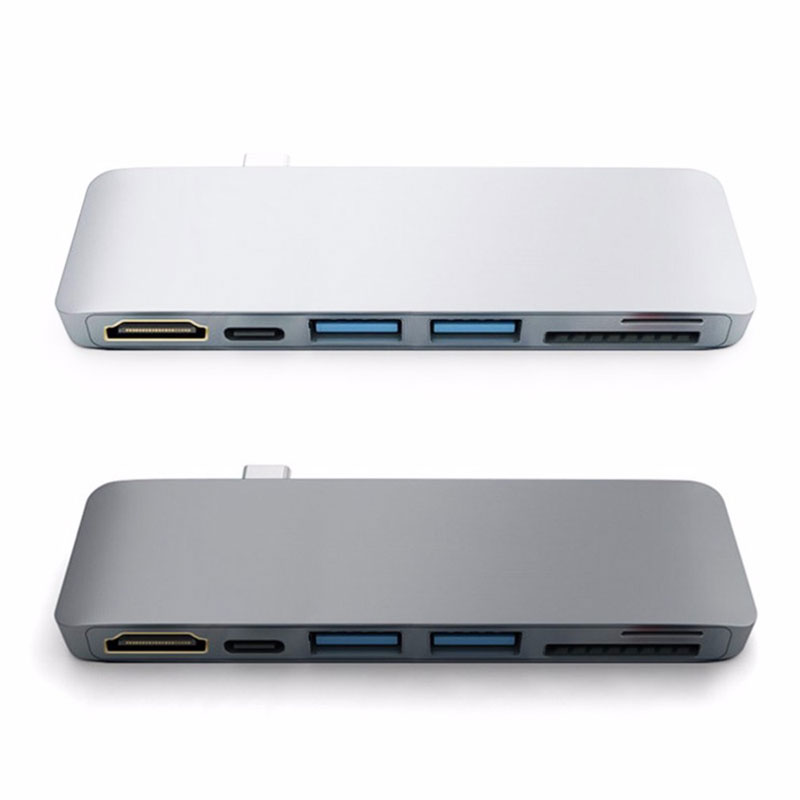 Image 5 - EASYA Thunderbolt 3 Type C to HDMI Hub Adapter for Samsung DEX Station USB C Dock with PD Power SD/TF Card Reader USB 3.0-in Type-C Adapter from Consumer Electronics