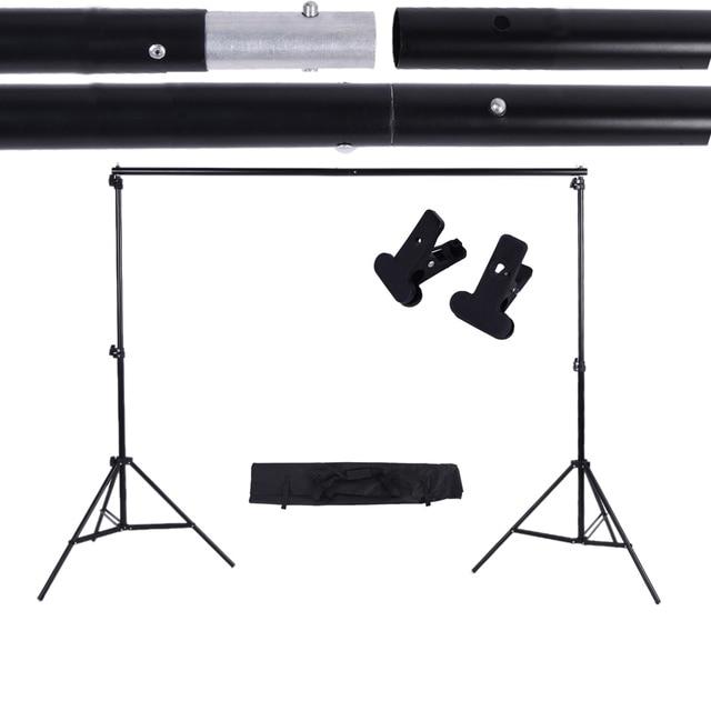 2*3 M/6.6 * 9.8ft Ảnh Nền Hỗ Trợ Chân Đế Có Thể Điều Chỉnh Lưng Photograpy Nền Cho Studio Ảnh Phông Nền xà Ngang