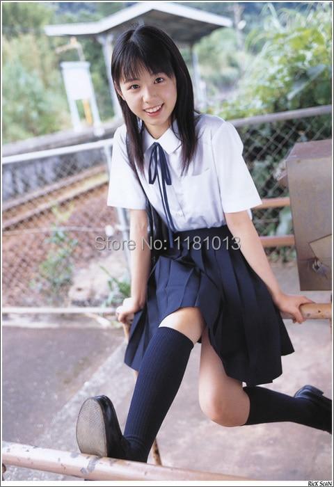 Image 5 - Japanese high school Schoolgirl Square collar short sleeve shirt Opacity solid white uniform shirtswhite uniform shirtwhite shirtcollar shirt -