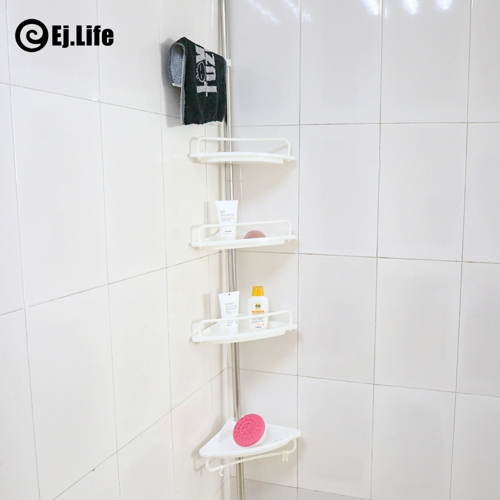 Wall Shelf Shower Shelf Shampoo Holder Bathroom Corner Rack Storage Holder  Hanger 4 Layer Heavy Duty