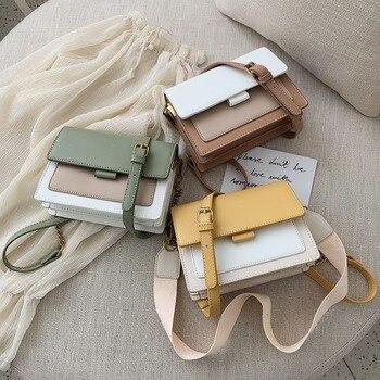 Mini Leather Crossbody Bags For Women 2019 Green Chain Shoulder Messenger Bag Lady Travel Purses and Handbags  Cross Body Bag 4