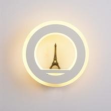 Wall Lamp AC90-260V Cosmetic Acrylic Indoor Bathroom Mirror Lamp Lights For Bathroom Wall Light Up Down Lights недорого