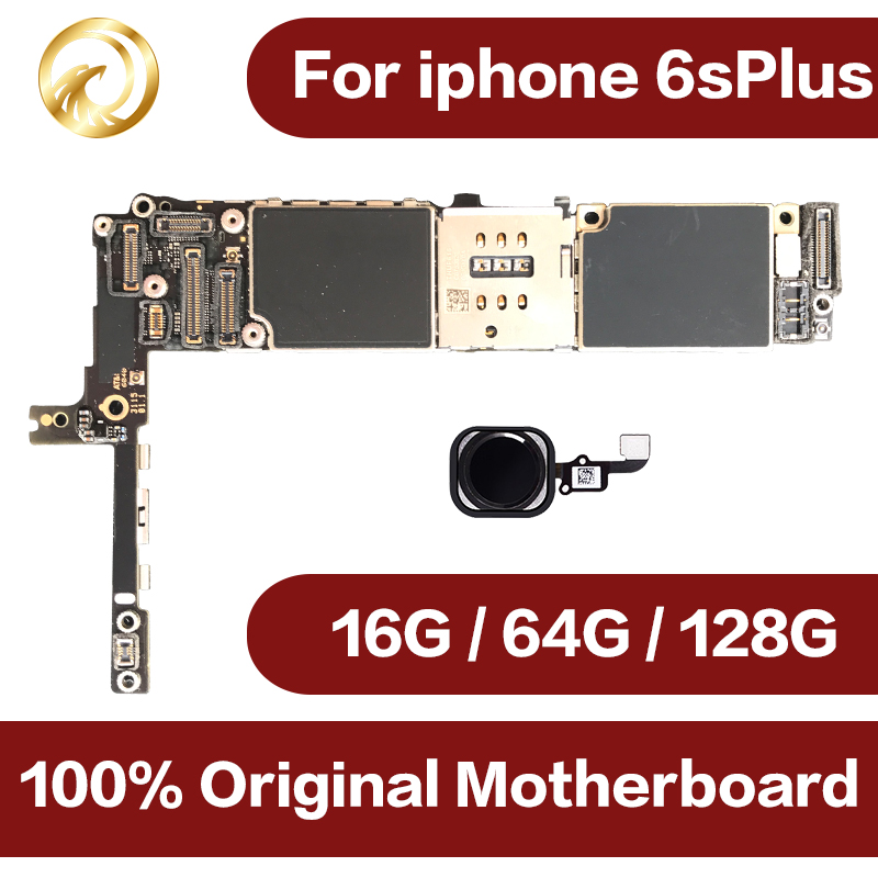 16gb / 64gb / 128gb Original unlocked for iphone 6s Plus Motherboard with Touch ID,for iphone 6sPlus Mainboard image