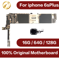 16gb / 64gb / 128gb Original unlocked for iphone 6s Plus Motherboard with Touch ID for iphone 6sPlus Mainboard