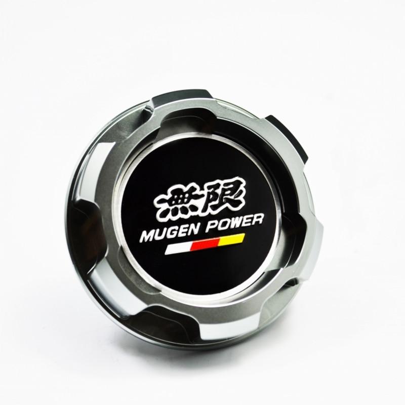Silver Aluminum ENGINE Oil Cap For Honda Accord SI Element