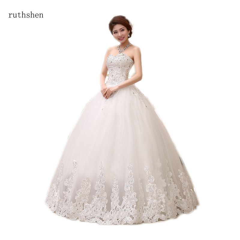 Ruthshen New Sweetheart Wedding Dress Ball Gown Full