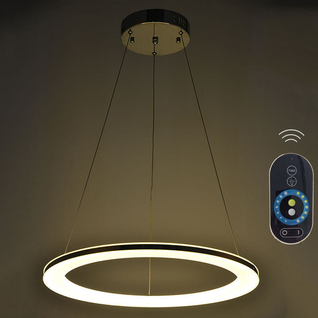 LED Acylic Pendant Lights Single Ring Hanging L&s Fixtures with 20W D60CM CE FCC VALLKIN LIGHTING & LED Acylic Pendant Lights Single Ring Hanging Lamps Fixtures with ...
