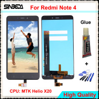 Sinbeda For Xiaomi Redmi Note 4 LCD Display Touch Screen Glass Digitizer Assembly For Redmi Note