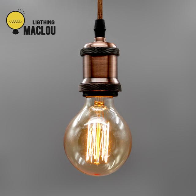 10 piezas Edison bombilla lámpara G95 ST64 220 V 40 W lámpara Retro ampolla E27, arquitecto lámpara, lámpara Steampunk, iluminación industrial, luz, lámpara de Edison, lámpara de noche, bombilla de filamento lámpara incandescente Decoración