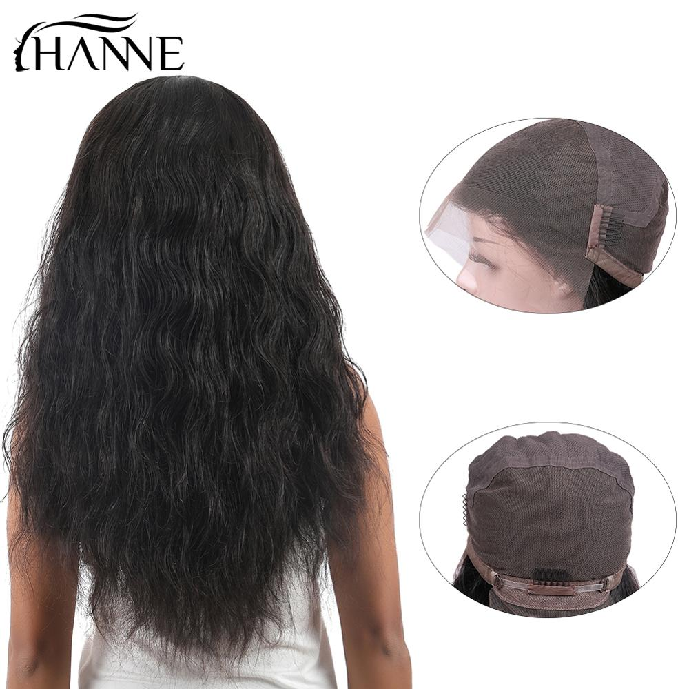 Natural Wave Full Lace Human Hair Wigs Natural Color Bleached Knots Brazilian Remy Hair Lace Front Remy Hair Wig For Black Women