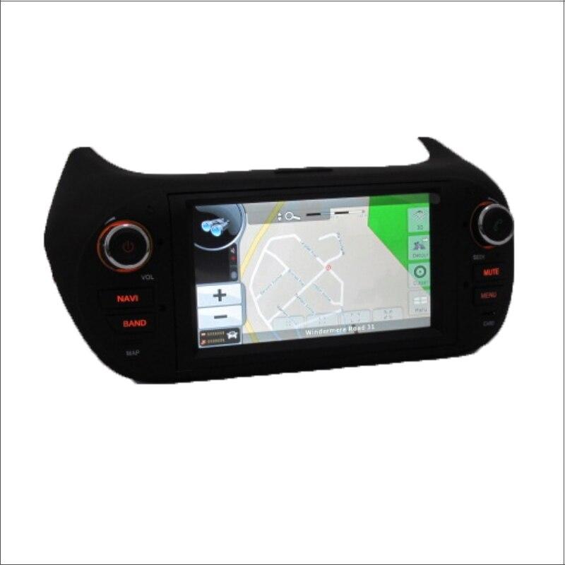 Fiat Qubo Fiorino/Para Citroen Nemo/Peugeot Bipper-Radio de Coche Dvd GPS de Nav