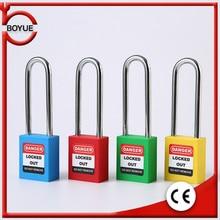 Steel padlock industrial safety engineering plastic lock listing anti-theft protection