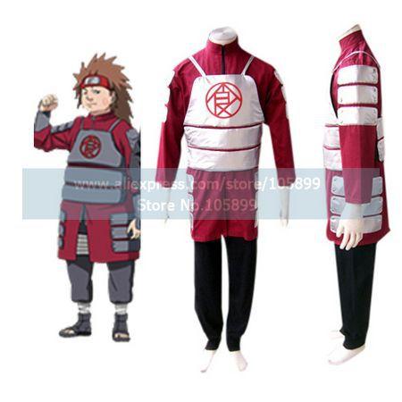 font b Naruto b font Shippuden Akimichi Chouji Men s font b Cosplay b font