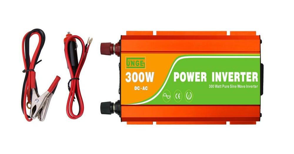car power inverter 300w 50hz 60hz pure sine wave ups inverters dc 12v to ac 220v 230v motor inverter high frequency factory sale