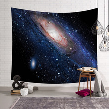 Starry sky Psychedelic Constellation tapestry Galaxy Space Pattern Tapestry mandala home decor wall hanging Polyester Fabric все цены