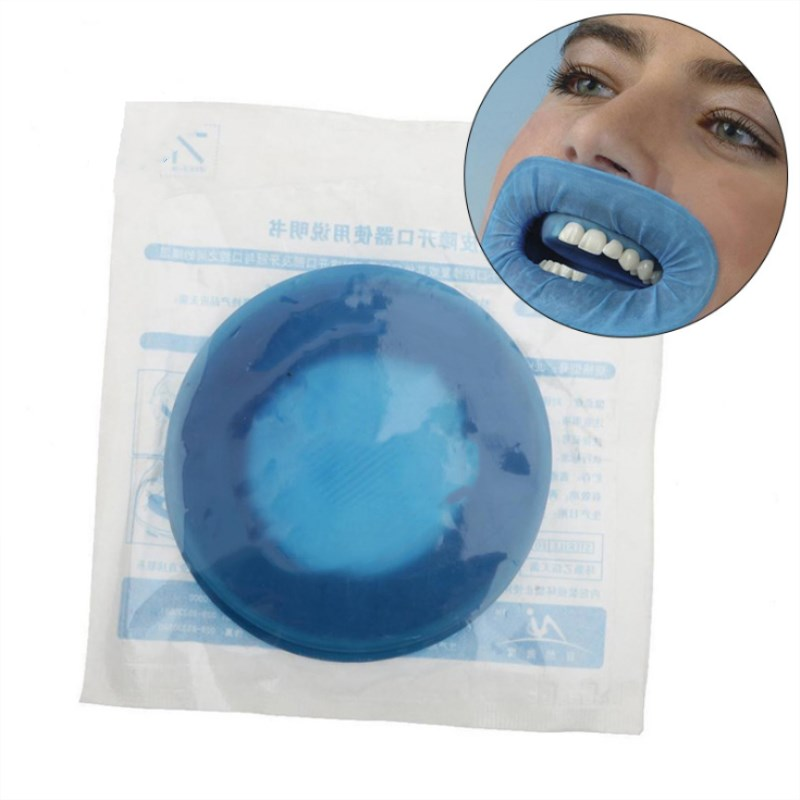 10 Pc Dental Disposable Rubber Sterile O Shape Mouth Opener Oral Cheek Expanders Retractor Rubber Dam Oral Hygiene Tool