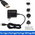 Qualidade 20 V 2A 40 W AC Adatper Laptop fonte de Alimentação Carregador de Parede ligue para o lenovo yoga3 pro yoga 3 pro/miix 700