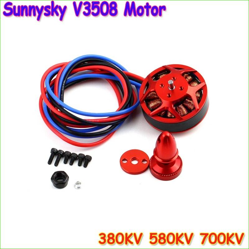 1pcs Original SUNNYSKY V3508 380KV 580KV 700KV Motor for Multi rotor Aircraft DJI15x5 1447 1555 prop