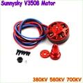 1pcs Original SUNNYSKY V3508 380KV 580KV 700KV Motor for Multi-rotor Aircraft DJI15x5 1447 1555 prop