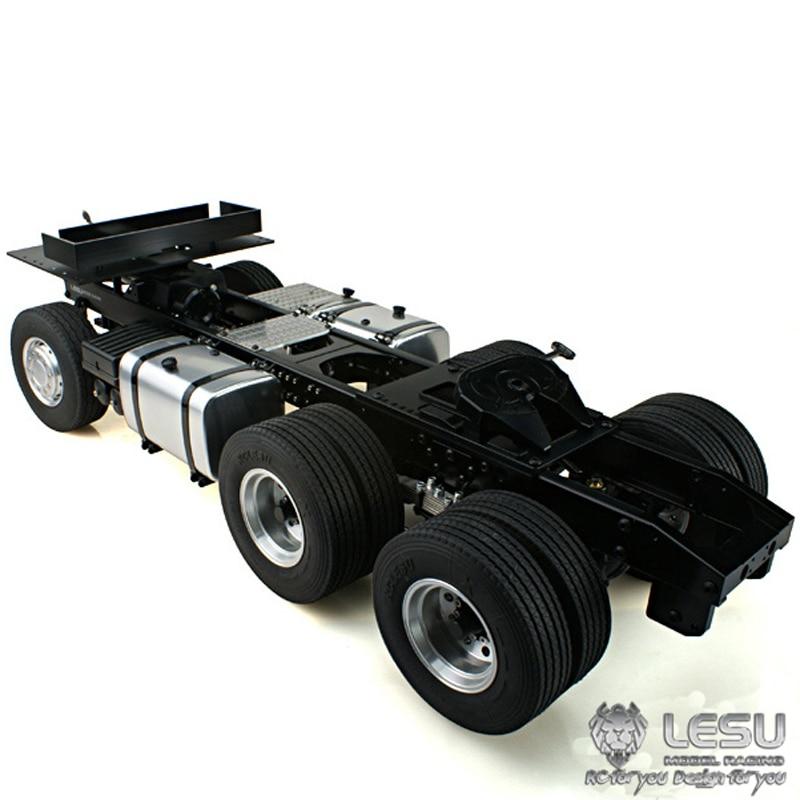 1/14 camion Scania R620 R470 entraînement arrière 6X4 châssis en métal cadre à couple élevé modèle électrique LS-20130011-A RCLESU Tamiya tracteur