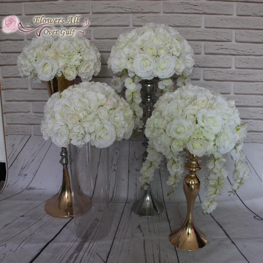 Artificial Flower Wedding Centerpieces: Artificial Flower Ball Centerpieces For Wedding Party