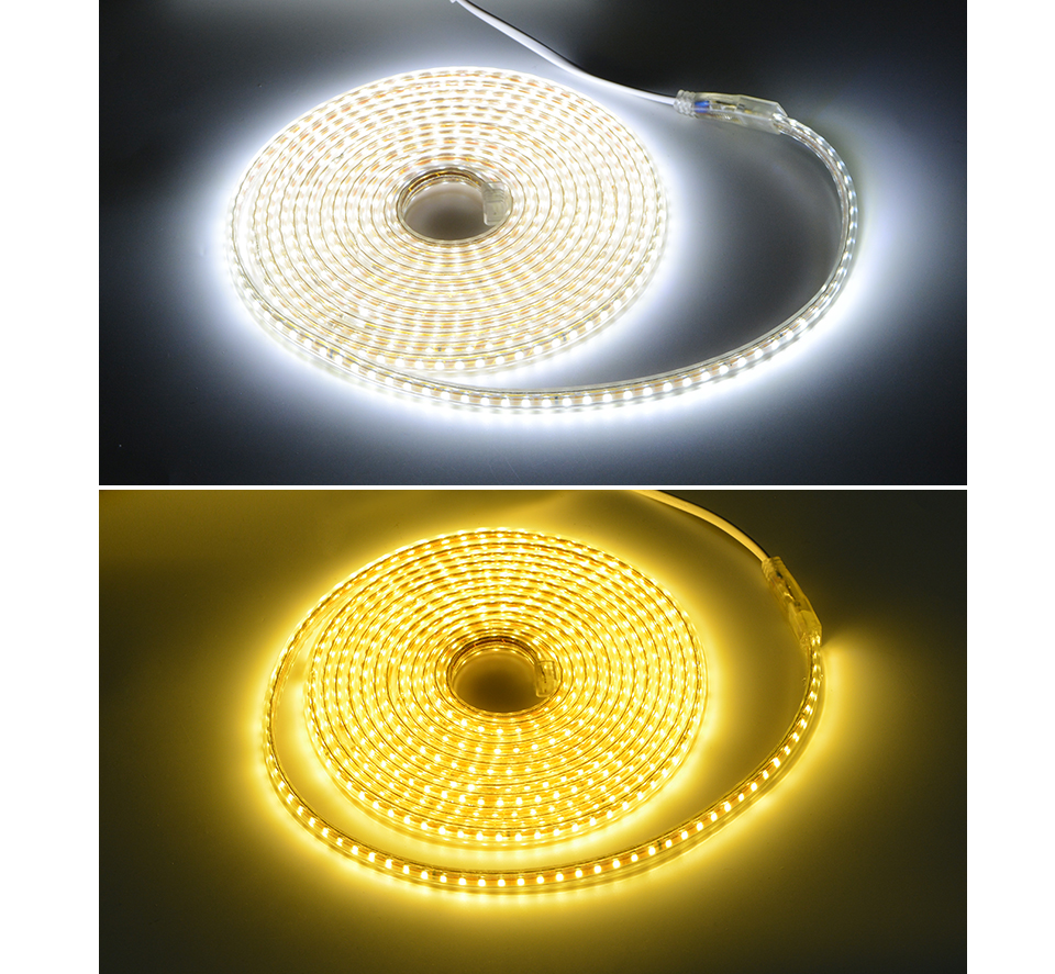 HTB12AsIcPihSKJjy0Flq6ydEXXai AIMENGTE Super Bright SMD2835 Dimmable 220V LED Strip Light 1M/5M/10M/15M/20M/25M Kitchen Outdoor Garden Lamp Tape with EU Plug
