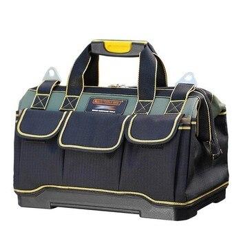 Sac à outils électricien outils menuiserie réparation de matériel Portable rangement organisateurs boîte travail clé boîte à outils Kitbag grande boîte à outils