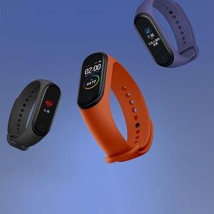 Image 5 - Xiao mi mi band 4, smart Armband Kleur Scherm Bluetooth 5.0 Smart Armband Hartslag Fitness 135 mAh Smart Horloge Smart Polsband