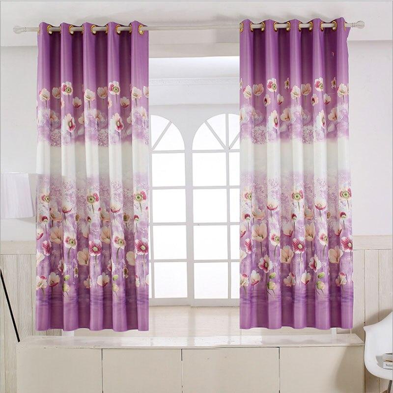 Rideau de fenetre de chambre rideau rideaux de fentre luxe lgant motif dcoration salon rideau - Rideau court fenetre ...