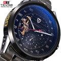 TEVISE Automatische Uhr männer Uhren Tourbillon Mechanische Skeleton Uhr Männer Selbst Wind Wasserdichte Männliche Uhr Relogio Masculino-in Mechanische Uhren aus Uhren bei