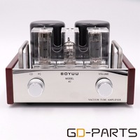 GD PARTS 2x3 6W Stereo Single End EL84 12AX7 Vintage Tube Amplifier Chass A HIFI Audio