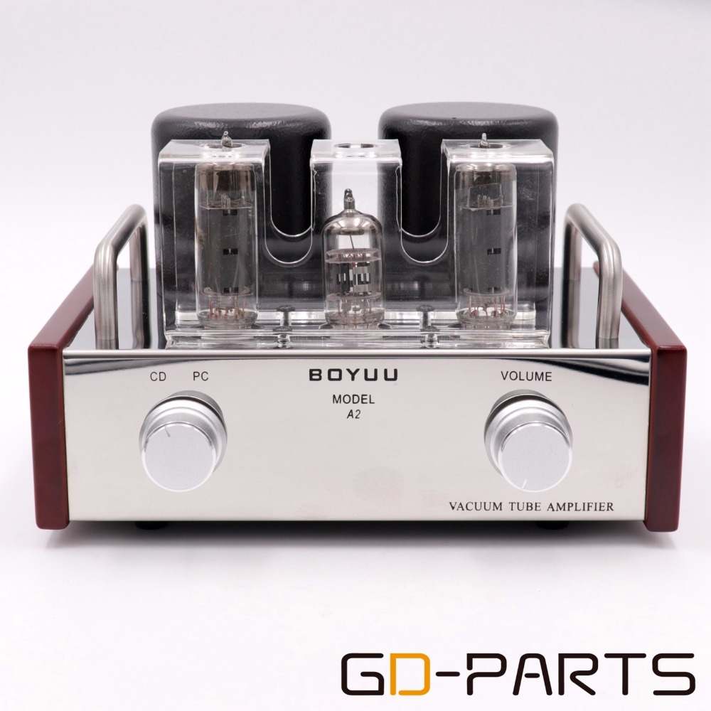 2x3 6W Stereo Single End EL84 12AX7 Vintage Tube Amplifier Class A HIFI Audio Valve AMP
