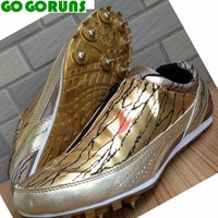 Outdoor Sprint Ultralight Spikes Long Running Shoes Men Women Trainers Sport Track Field Breathable Athletic Dash
