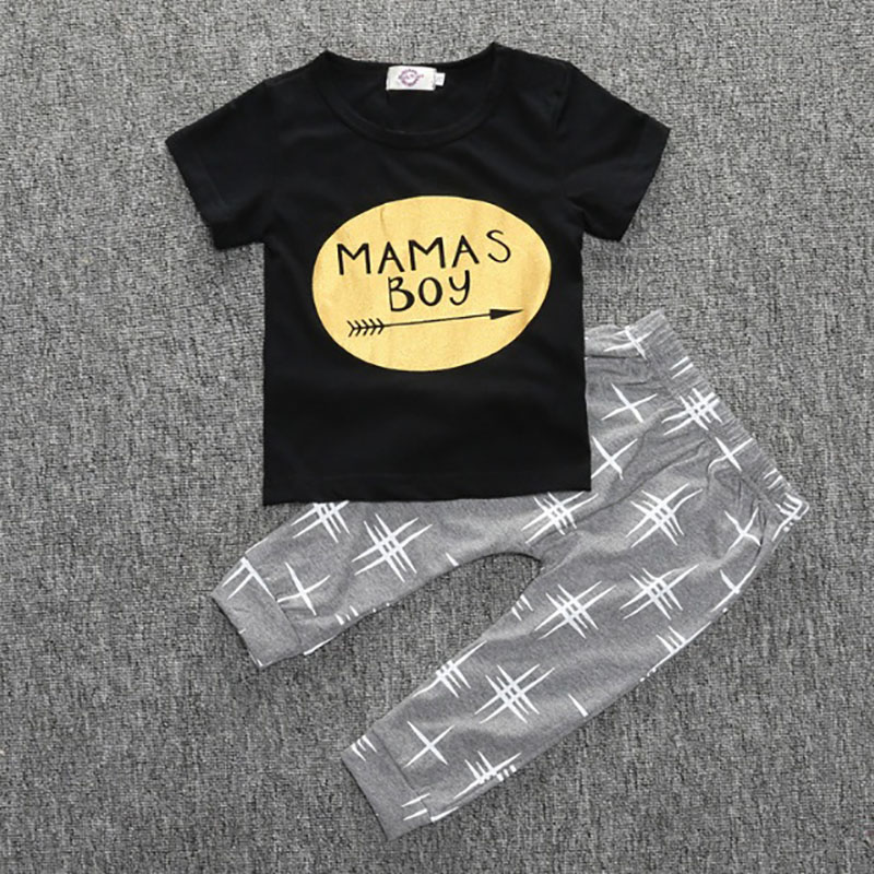 Fashion Baby girls clothes Letters Hot stamping boys t-shirt 2018 Summer New Thin Section Cotton newborn baby girl clothing ...