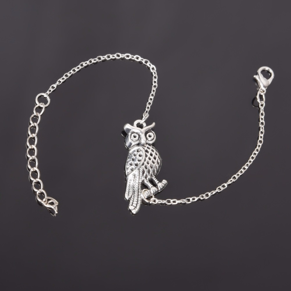 Simple Style Silver Plated Charm Bracelet Jewelry Gift Wedding Banquet Wholesale Top Quality 1 D2 21