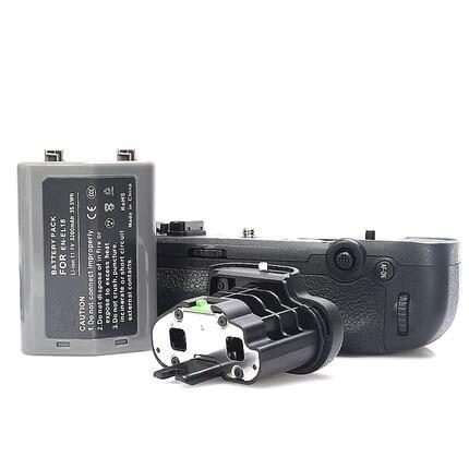 MB-D18 substituição bateria aperto + EN-EL18 bateria + BL-5 câmara capa para nikon d850 digital slr câmeras, pode alcançar 9fps.