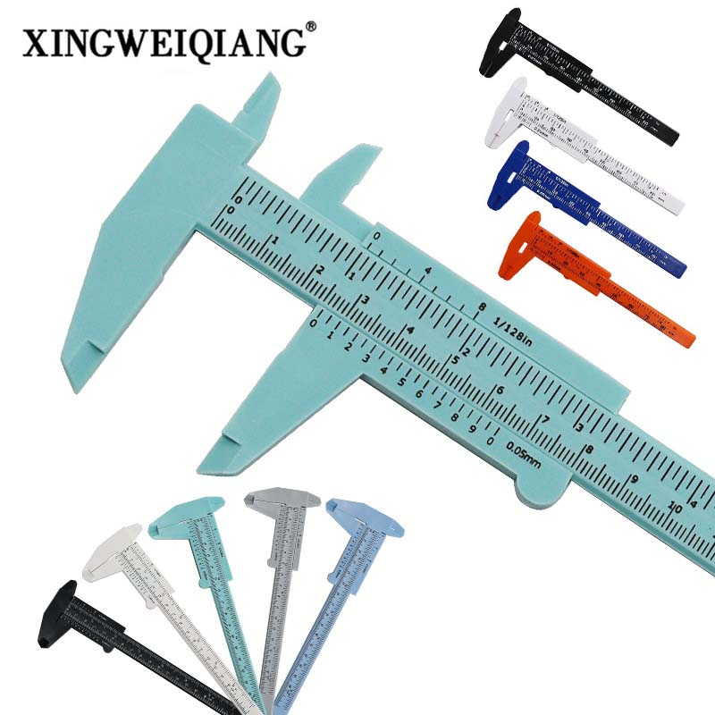 DIY Tool Woodworking Metalworking Plumbing Model Making 80mm 150mm Vernier Caliper Aperture Depth Diameter Measure Tool