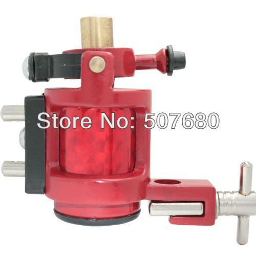 Professional Rotary Tattoo Machine Gun Tattoos Red Color Tattooing Supply Hot Sale