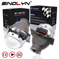 SINOLYN 3.0'' Q5 H7 D2S HID Xenon/Halogen/LED Headlight Bi Xenon Projector Lens LHD RHD For Car Styling Headlamp Tuning Retrofit