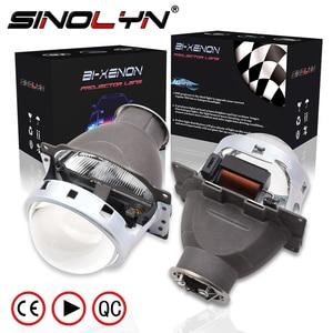 Image 1 - Sinolyn Headlight Lenses Q5 H7 D2S HID Xenon/Halogen/LED Lens 3.0 Bi xenon Projector For Car Lights Accessories Retrofit Styling