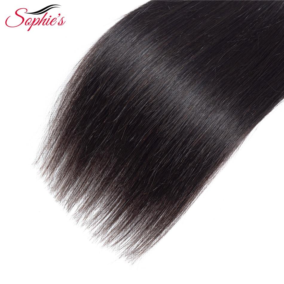 Sophie's Hair Hair Bundles Peruvian Straight Hair Weaves Sy i - Skönhet och hälsa - Foto 5