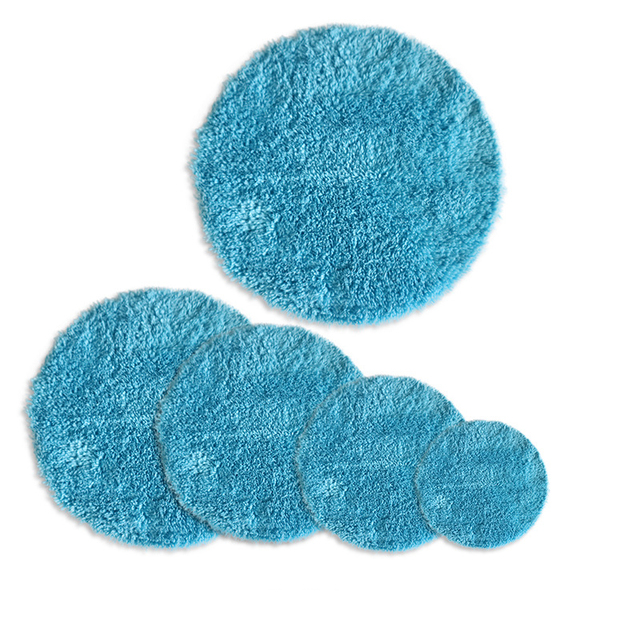 Car Care 4 5 6 7.5inch Microfiber For Wax Coating Polishing Cleaning Sponge Washing Tool Car Sponge Auto Detailing