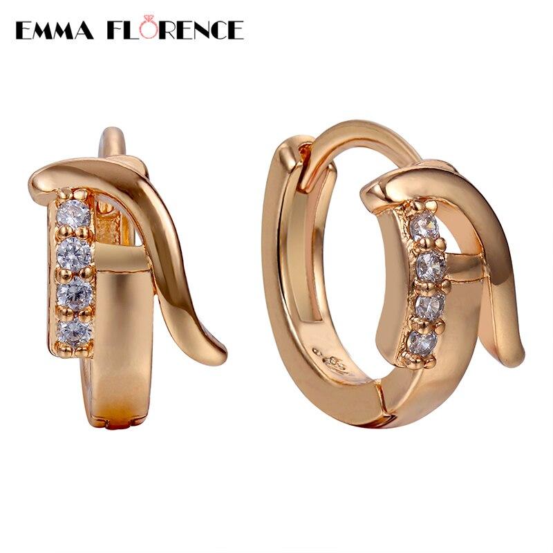2018 New Quality Alphabet 'A' Hoop Earrings Women Fashion ...